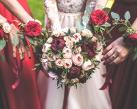 red-white-bridesmaids